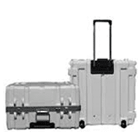 Parker White Rolling Cases