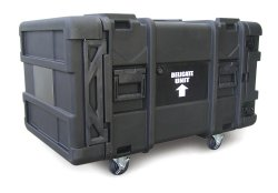 "SKB 30"" Deep 8 Unit Roto-Molded Shock Rack Cases"