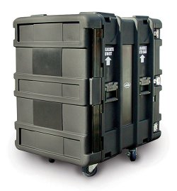 "SKB 24"" Deep 14 Unit Roto-Molded Shock Rack Cases"