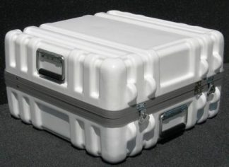 Parker Thermo Formed Plastic Shipping Case-DP2020-10 Case