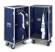 Double Upright Wardrobe Road & Storage Case-Model DP68-343