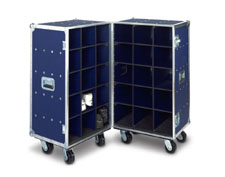 Double Shoe Upright Road & Storage Case-Model DP68-345